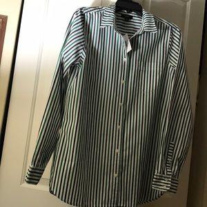 New Women shirt/white/green/black
